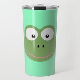 Frog head T-Shirt for Women, Men and Kids D6av3 Travel Mug