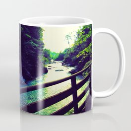 Torrent in the mountains Coffee Mug