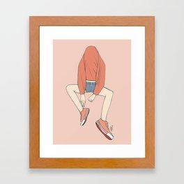Secret Hideaway Framed Art Print