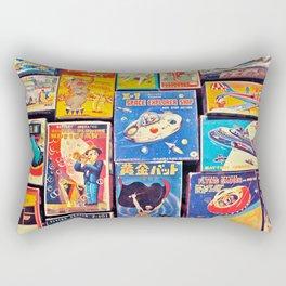 Toy Warp Rectangular Pillow