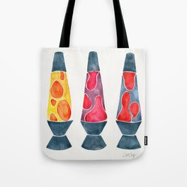 Retro Vibes – Warm Palette Tote Bag