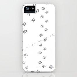 Animal Tracks of North America iPhone Case