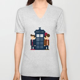 Doctor Who 10th & 11th Unisex V-Neck