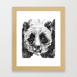The Illustrated Panda Framed Art Print