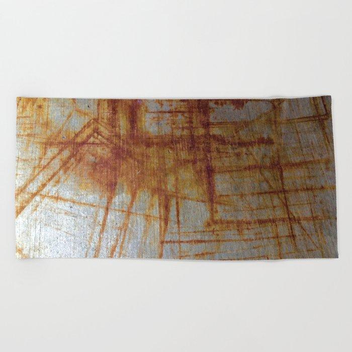 Rusty Boxy Beach Towel