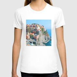 Italy. Cinque Terre - Cliffside T-shirt