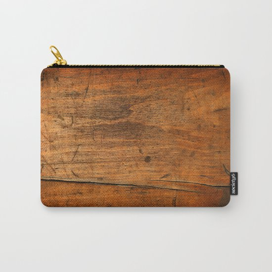 Wood Texture 340 Carry-All Pouch