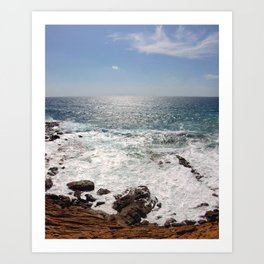 Sea and Sardinia Art Print