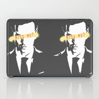 moriarty iPad Cases featuring Miss Me? / Moriarty / III by Earl of Grey