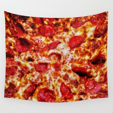 Pizza Painting Wall Tapestry