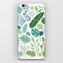 Botanical Chart iPhone Skin