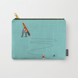 At The End Of The Line Carry-All Pouch