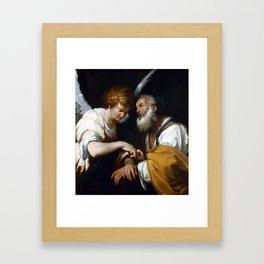 Bernardo Strozzi The Release of Saint Peter Framed Art Print