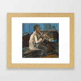 Trumpet Joe Framed Art Print