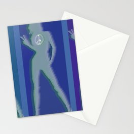 Peace Woman Repeat Stationery Cards