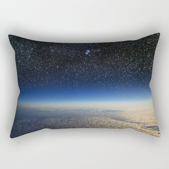Earth from Space Rectangular Pillow