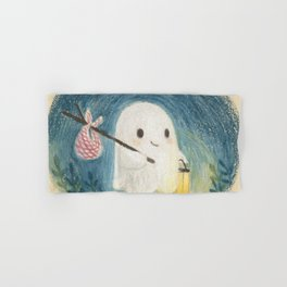 Little ghost in the night Hand & Bath Towel
