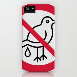 Birds Sign Logo 2 iPhone Case