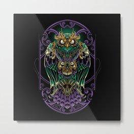Grand Horned Owl Metal Print