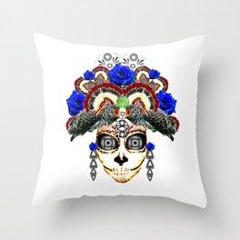 Cruella del Rosa Throw Pillow