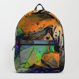 Grandma's Hibiscus Backpack