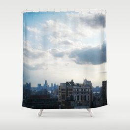 NYC Cityscape Shower Curtain