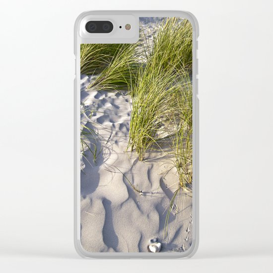 Sand Dune of Denmark Clear iPhone Case