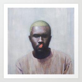 Blonde (Frank) Art Print