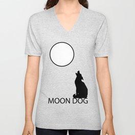 Moon Dog Unisex V-Neck