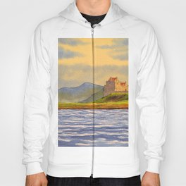 Duart Castle Isle Of Mull Scotland Hoody