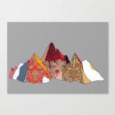 3 Mountains Canvas Print