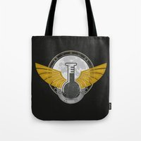 alchemy Tote Bags featuring Alchemy by ChunkyDesign