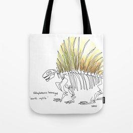 Earth Reptile Tote Bag