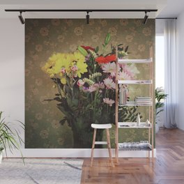 Flowers for her Wall Mural