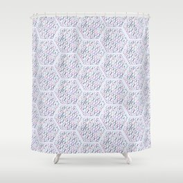 Most Logo comb Shower Curtain