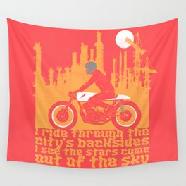 city's backsides Wall Tapestry