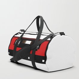 Red Cassette Duffle Bag