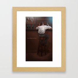 Beer… Framed Art Print