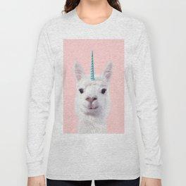 ALPACA UNICORN Long Sleeve T-shirt