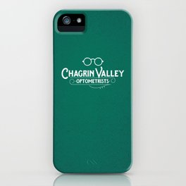 Chagrin Valley Optometrists iPhone Case