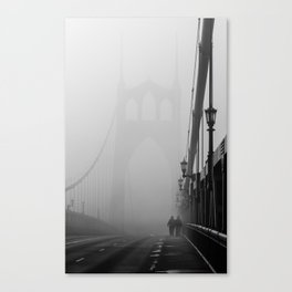 Gothic Bridge Canvas Print