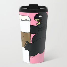 Kong Coffee Metal Travel Mug