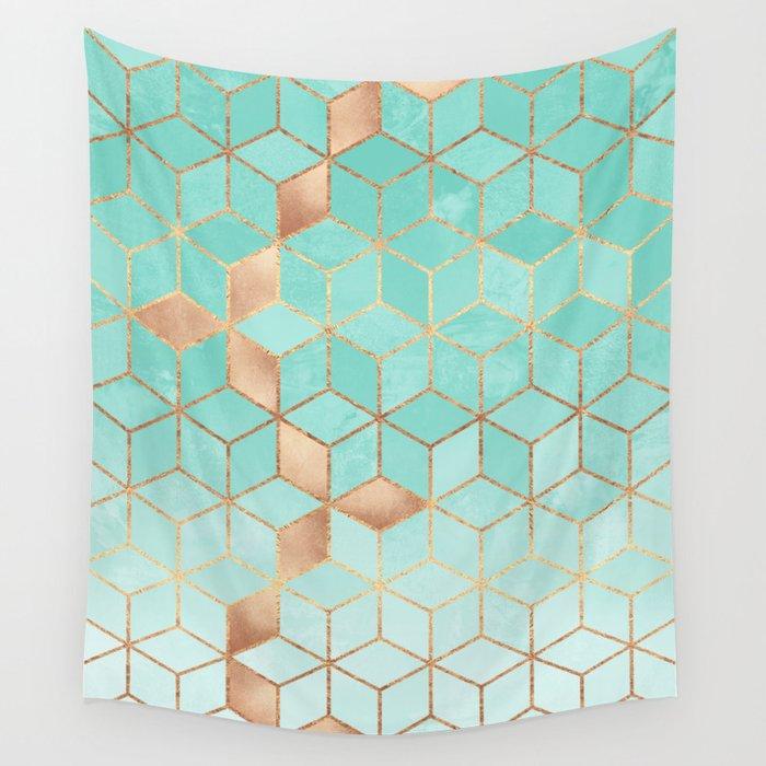 Soft Gradient Aquamarine