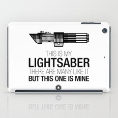 This is my Lightsaber (Vader Version) iPad Case