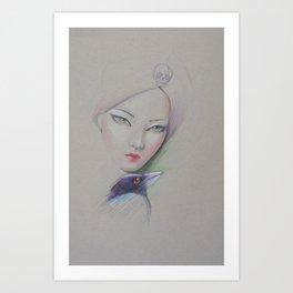 the rigid Art Print