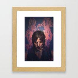 canis lupis. Framed Art Print