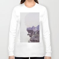 the national Long Sleeve T-shirts featuring National Guard by PecDesign