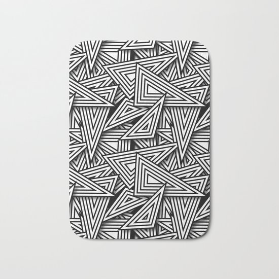 Triangle Funk Bath Mat