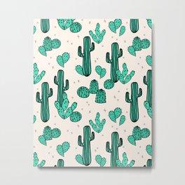 Cactus by Andrea Lauren Metal Print
