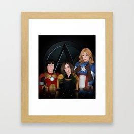 Aos  Framed Art Print